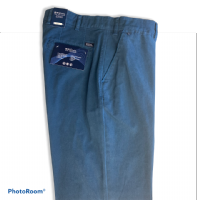 Winterweight Chino by Bruhl - Blue - 0593-183240-650